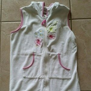 Girls American Girl Beach Cover-Up Large